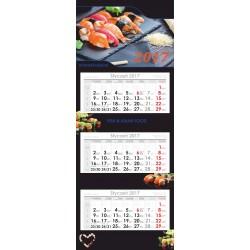 Kalendarz Trójdzielny Ekonomiczny główka płaska