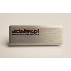 Identyfikator Aluminiowy LUX