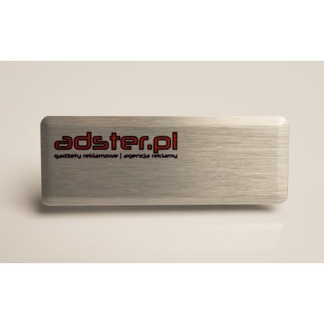 Identyfikator firmowy aluminiowy 30 cm2
