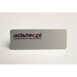 Identyfikator Aluminiowy