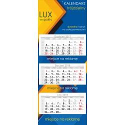 Kalendarz Trójdzielny Lux główka wypukła