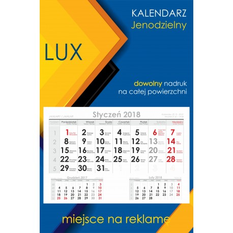 Kalendarz jednodzielny Ekonomiczny