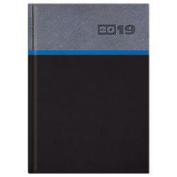 Kalendarz książkowy A5 dzienny Avalo modrakowa