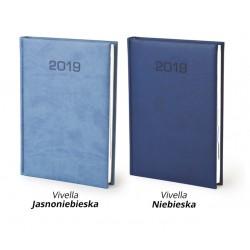 Kalendarz książkowy A5 dzienny Vivella Blue
