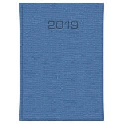 Kalendarz książkowy A5 dzienny Yuta Blue