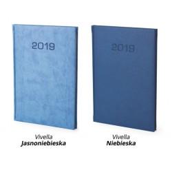 Kalendarz książkowy B5 Tygodniowy Vivella Blue